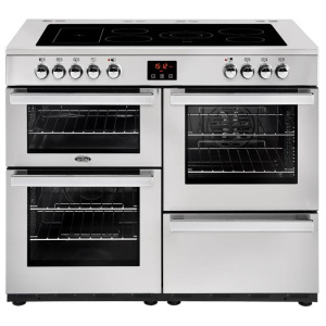 Belling Cookcentre 100E PROF Stainless Steel 100cm Electric Ceramic Range Cooker