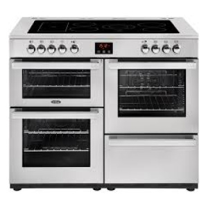 Belling Cookcentre 110E PROF Stainless Steel 110cm Electric Ceramic Range Cooker