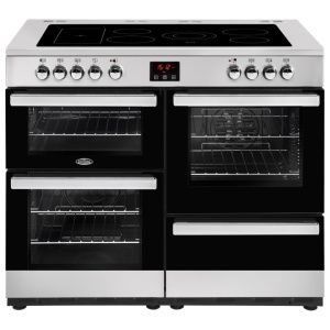 Belling Cookcentre 110E Stainless Steel 110cm Electric Ceramic Range Cooker