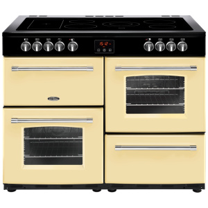 Belling Farmhouse 110E Cream 110cm Electric Ceramic Range Cooker