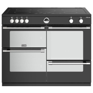 Stoves Sterling S1100Ei Black 110cm Electric Induction Range Cooker