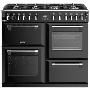 Stoves Richmond Deluxe S1000DF GTG Black 100cm Dual Fuel Range Cooker