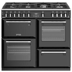 Stoves Richmond Deluxe S1000G Black 100cm Gas Range Cooker