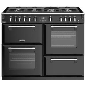 Stoves Richmond Deluxe S1100G Black 110cm Gas Range Cooker