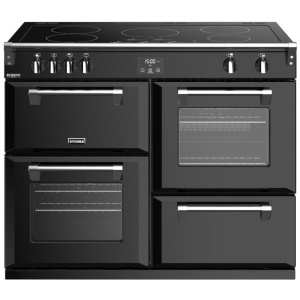 Stoves Richmond Deluxe S1100Ei Black 110cm Electric Induction Range Cooker